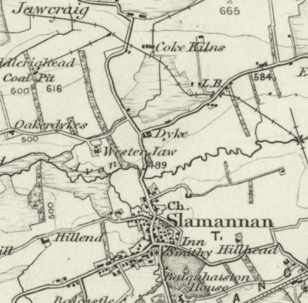 1885-1900 Upper Avon map River