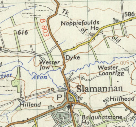 The Upper Avon area in 1955-61