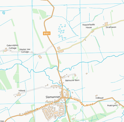 The Upper Avon area in 2018