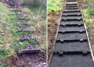 Steps Before and After