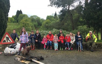 Litter Picking with Friends of Polkemmet